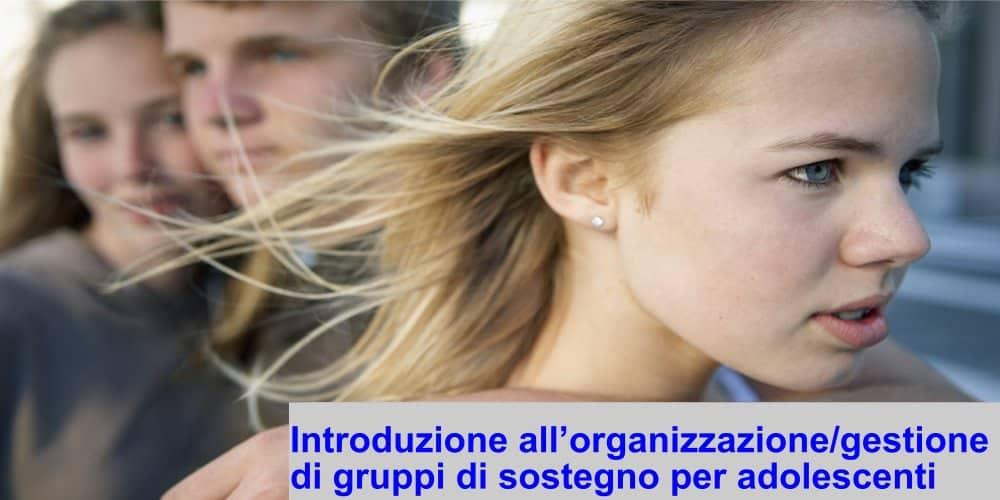 gruppi di sostegno per adolescenti