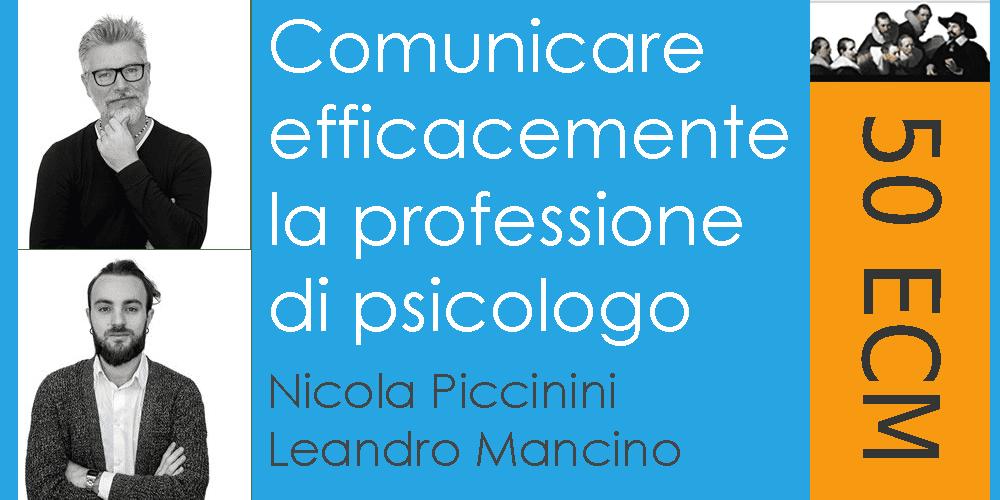 Comunicare efficacemente la professione di psicologo - 50 crediti ECM
