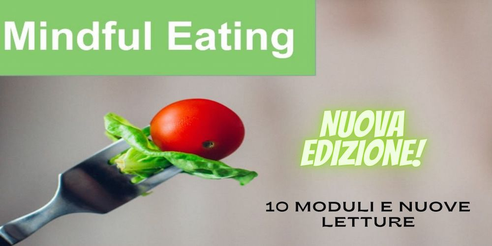 Mindful eating corso