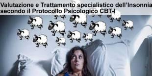 Valutazione e Trattamento Insonnia Protocollo Psicologico CBT-I