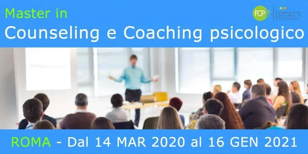 Master In Counseling E Coaching Psicologico Per Soli Psicologi