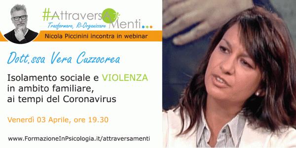 Isolamento sociale e VIOLENZA in ambito familiare, ai tempi del Coronavirus