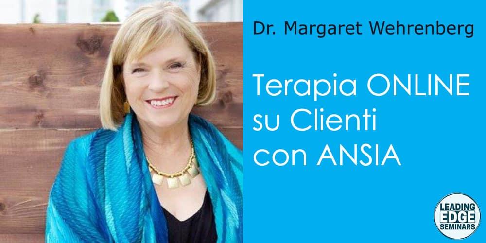 Terapia ONLINE su clienti con ANSIA, usando il viso e la voce per creare CALMA