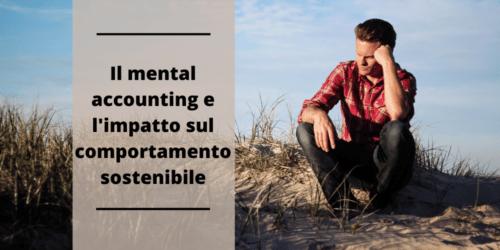mental accounting comportamento sostenibile