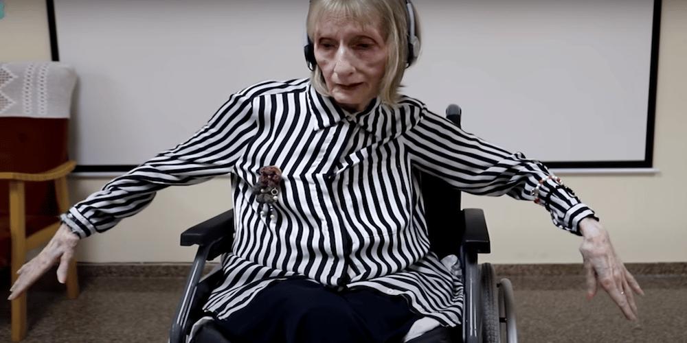 Alzheimer il momento in cui Marta C Gonzalez ricorda la coreografia