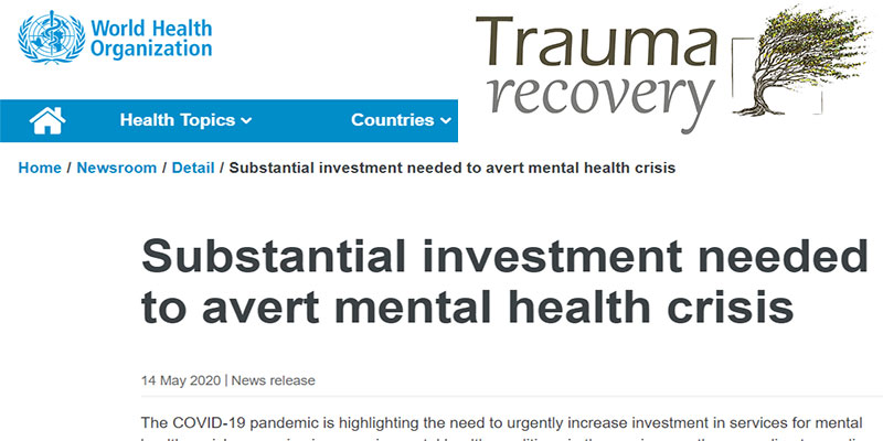Gli investimenti essenziali per evitare una crisi nel campo della Salute Mentale