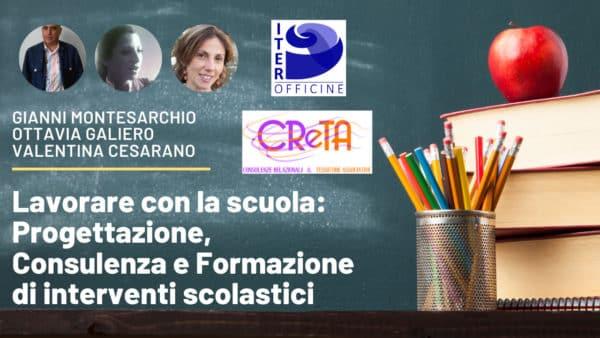 Progettazione, Consulenza e Formazione di interventi scolastici
