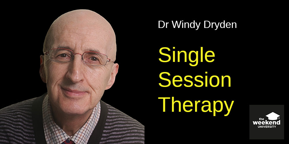 Single-session Therapy, con Windy Dryden