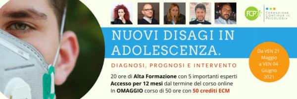 Nuovi disagi in adolescenza. Diagnosi, prognosi e intervento
