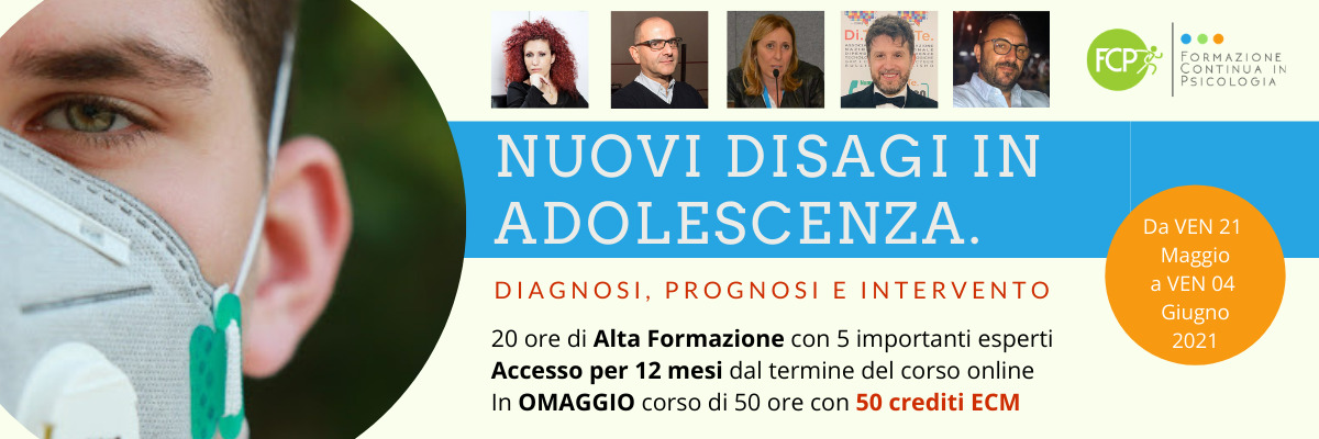 Nuovi disagi in adolescenza. Diagnosi, prognosi e intervento