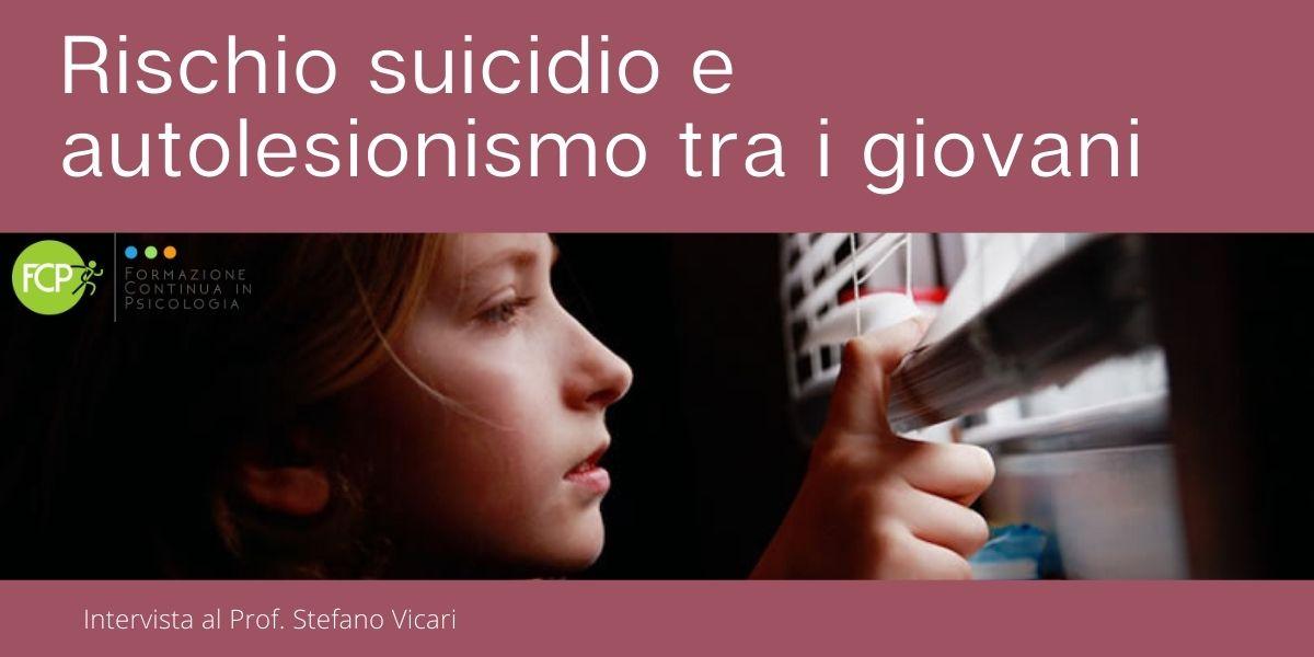 Rischio suicidio e autolesionismo tra i giovani