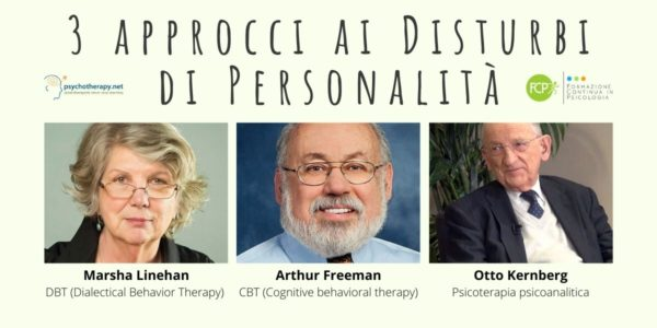 3 approcci ai Disturbi di Personalità