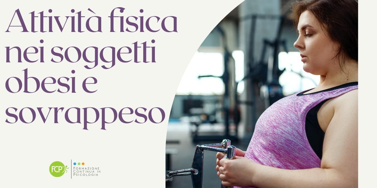 attività fisica sovrappeso