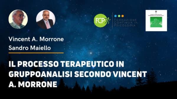processo terapeutico Vincent Morrone