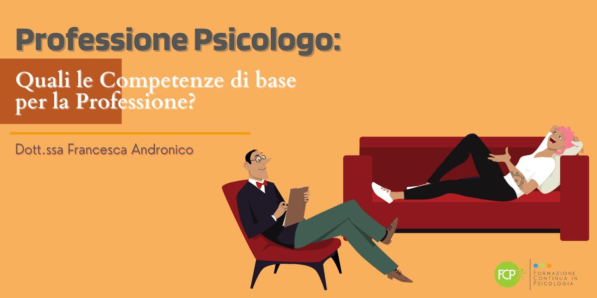 professione psicologo