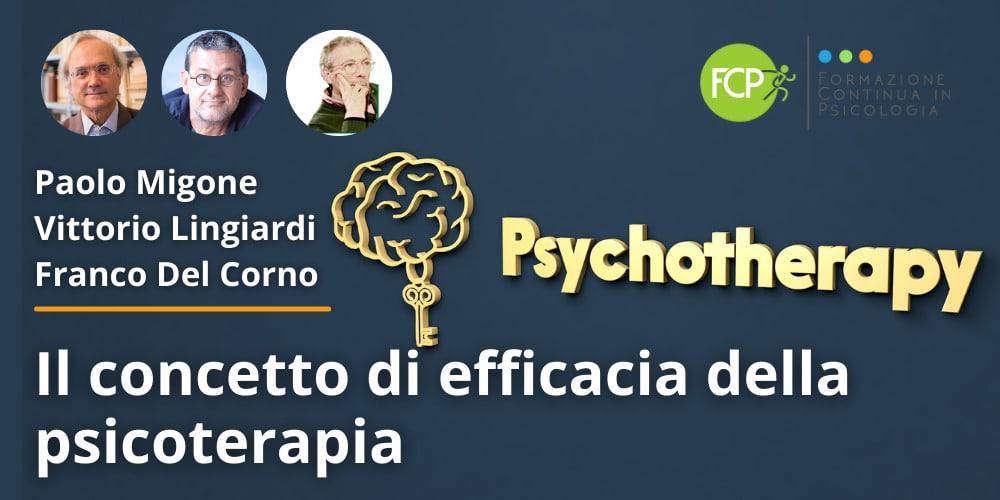 efficacia della psicoterapia