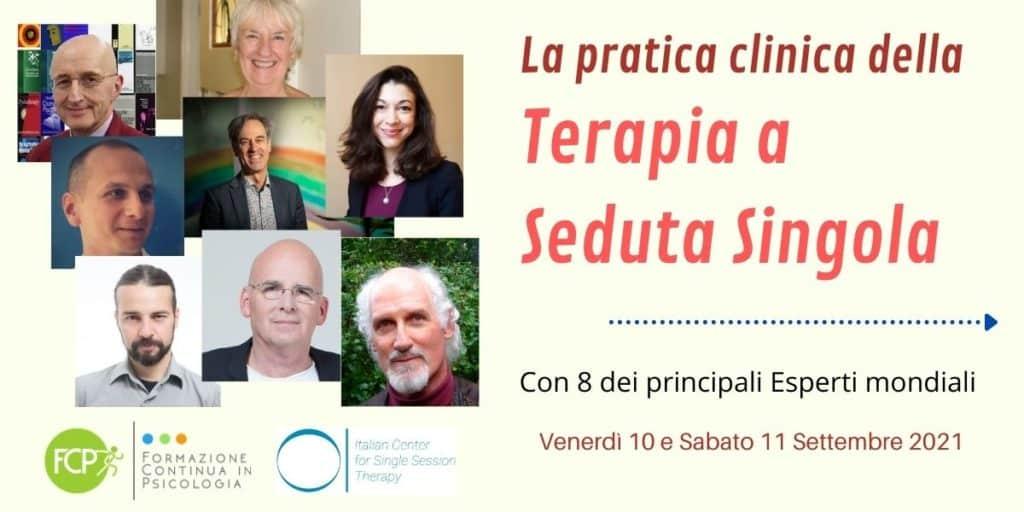 La pratica clinica della Terapia a Seduta Singola (TSS)