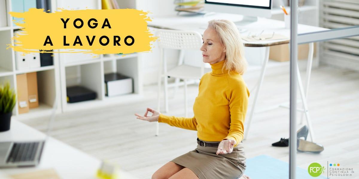 yoga lavoro