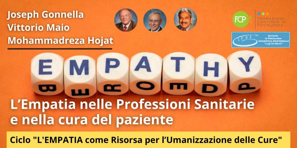Empatia nelle Professioni Sanitarie e nella cura del paziente