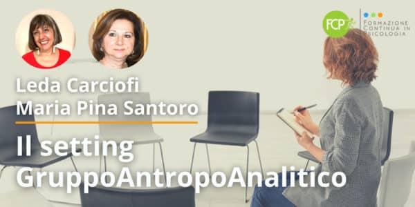 setting GruppoAntropoAnalitico