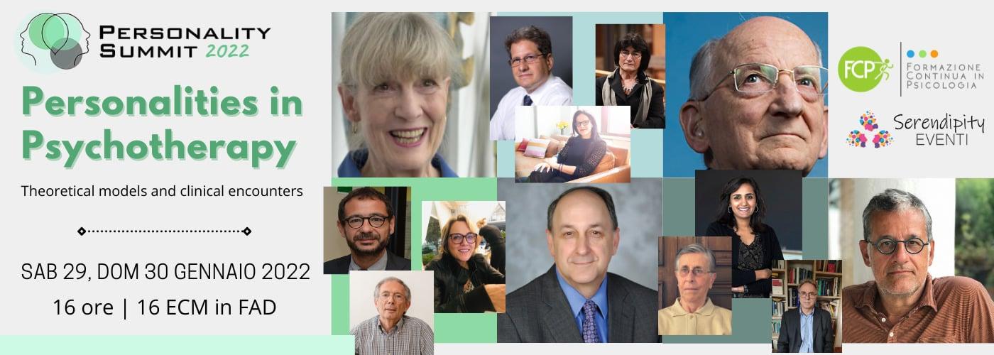 Personality Summit 2022 – Le Personalità in Psicoterapia